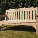 Classic Forester Memorial Bench