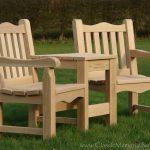 Classic Twin Seat in Oak