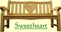 Classic Sweetheart bench