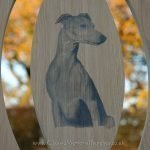 Pet memorial bench