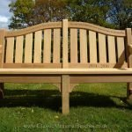 6ft Classic IV memorial bench