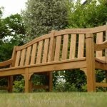 Classic IV design memorial bench