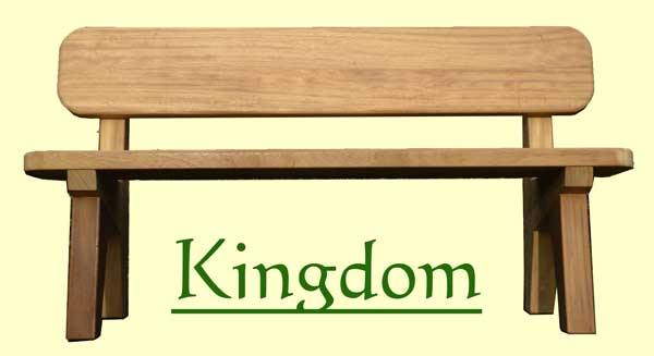 Classic Kingdom Memorial Bench