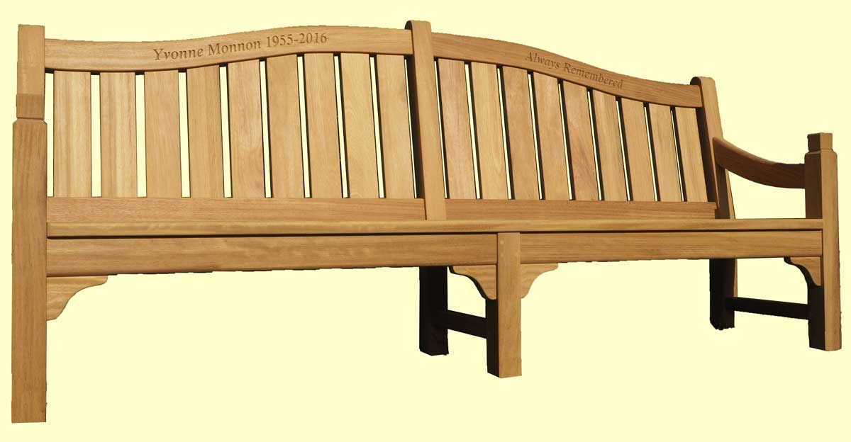 Classic IV memorial bench