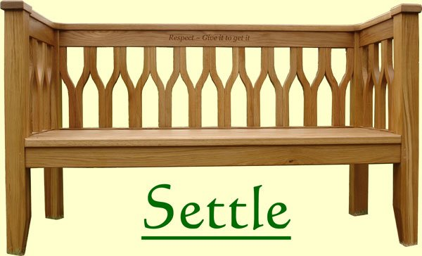 Classic Settle Bench